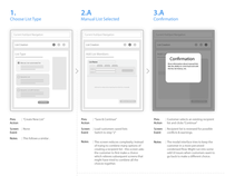 Web Site & Application Wireframes