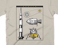 Apollo Moon Mission t-shirt