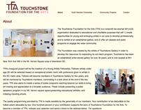 Responsive Wordpress Theme for art non-profit
