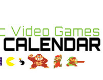Classic Video Games 2013 Calendar