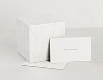 DOWNLOAD - Minimal White Business Card Mockup Pack