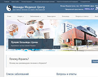 Website for Monada Medical Center