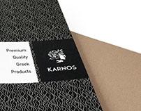 KARNOS folder & brochure