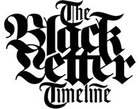 The Blackletter Timeline