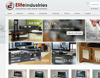 Ecommerce  website for EliteInds