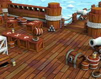 Videogame pirate assets