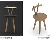 """GEVIR"" - chairmodelling in Solidworks"
