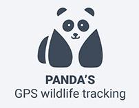 PANDA'S, GPS wildlife tracking