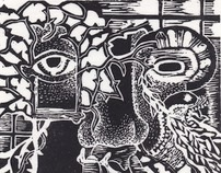 Prints: linocuts & etchings