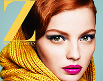 MAKE-UP COLORS FOR FALL - Editorial for Faz Magazine