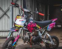 CRF 50 pitbike design
