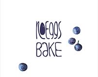 """""""No eggs bake"""" logo"""
