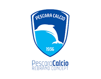Pescara Calcio Rebrand Concept // Football Project