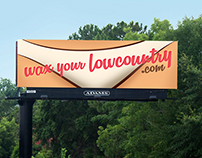"Our Spa ""Wax Your Lowcountry"" Billboard"
