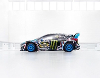 2017 HRD /Deathspray/3d effect/ Ken Block livery.