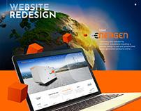 Website redesign - ENERGEN