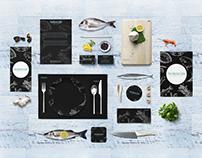 The Marine Cafe seafood | Branding