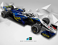 Re:Imagined - BAR Supertec 001 Livery