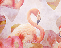Textile print design - Alchemy