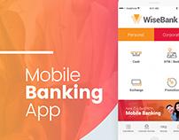 WiseBank - Mobile Banking App