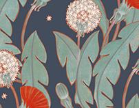 the dandelion pattern