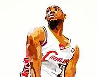 Illustration: LeBron James