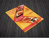 Food Shop Flyer