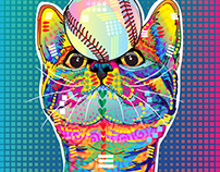 2018 colorful animals project