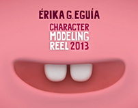 Character Modeling Reel 2013