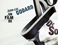 Godard Film Poster Series
