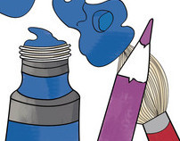 Blick Art Materials Advertisments