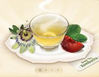 Yogi Tea & Cereal Site Redesign