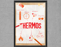 Affiche - Thermos