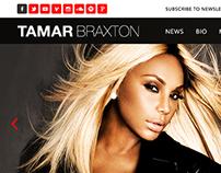 Tamar Braxton - Website design