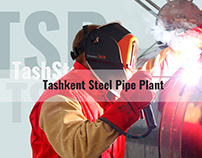 Website for steel pipe plant