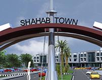 Shahab Town Enterance Gate Jehlum
