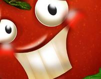 Tomato . Illustration