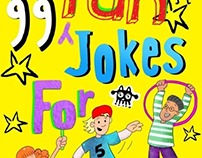 99 Fun Jokes for Kids Book Cover