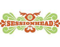 Sessionhead Site + App Design