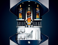Johnnie Walker Blue Label Whisky Bar