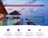 5 Star Hotel - Hotel Listing WordPress Theme UI/UX