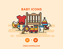 FREE - BABY ICONS