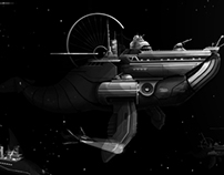 Whaling in deep space