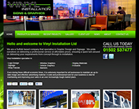 Vinyl Installations web design