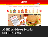 WEB DESIGN. Supán