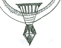 Jewelry design sketches