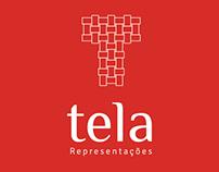 Logotipo Tela Representações