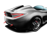Mercedes roadster concept