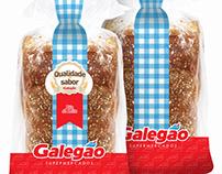 Embalagens padaria Galegão Supermercados