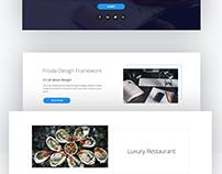 Froala website slices